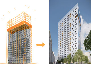 Renovating housing towers in Brussels. How do you reconcile user comfort, energy efficiency and urban landscape?